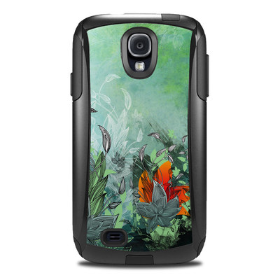 OtterBox Commuter Galaxy S4 Case Skin - Sea Flora