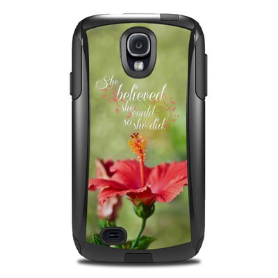 OtterBox Commuter Galaxy S4 Case Skin - She Believed
