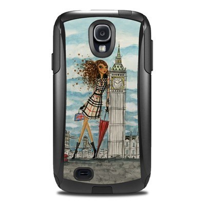 Otterbox Commuter Galaxy S4 Case Skin - The Sights London