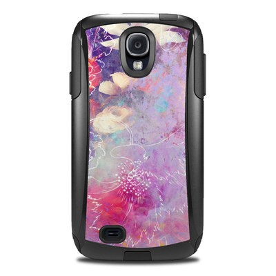 OtterBox Commuter Galaxy S4 Case Skin - Sketch Flowers Lily