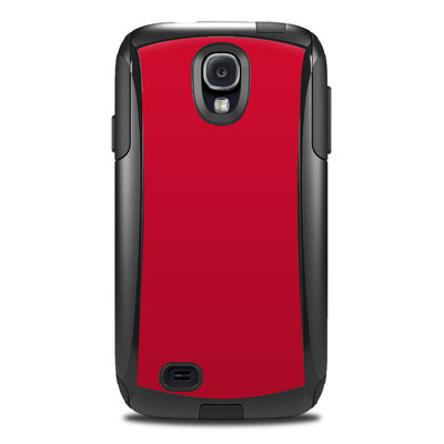 OtterBox Commuter Galaxy S4 Case Skin - Solid State Red
