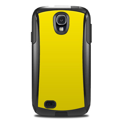 OtterBox Commuter Galaxy S4 Case Skin - Solid State Yellow