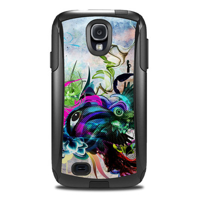 OtterBox Commuter Galaxy S4 Case Skin - Streaming Eye