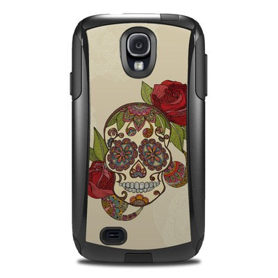 OtterBox Commuter Galaxy S4 Case Skin - Sugar Skull