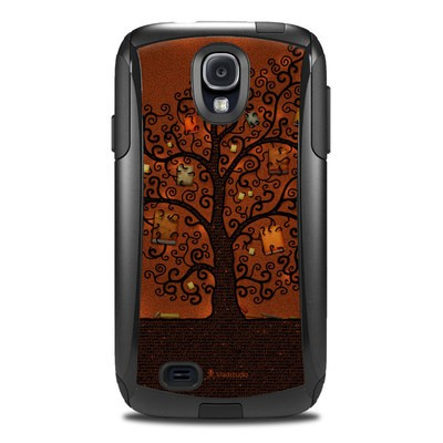 Otterbox Commuter Galaxy S4 Case Skin - Tree Of Books
