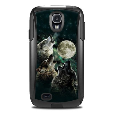 OtterBox Commuter Galaxy S4 Case Skin - Three Wolf Moon