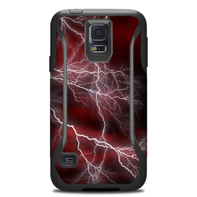 OtterBox Commuter Galaxy S5 Case Skin - Apocalypse Red