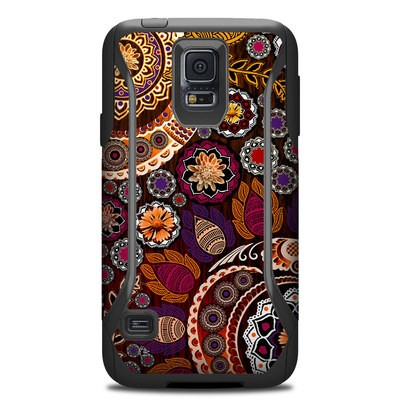 OtterBox Commuter Galaxy S5 Case Skin - Autumn Mehndi