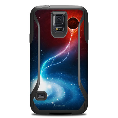 Otterbox Commuter Galaxy S5 Case Skin - Black Hole