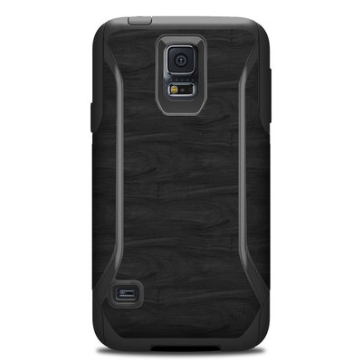 OtterBox Commuter Galaxy S5 Case Skin - Black Woodgrain