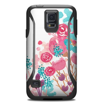OtterBox Commuter Galaxy S5 Case Skin - Blush Blossoms