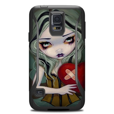 OtterBox Commuter Galaxy S5 Case Skin - Broken Heart
