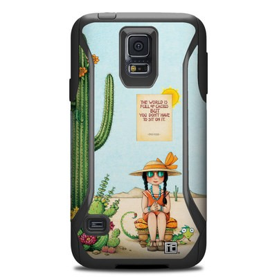 Otterbox Commuter Galaxy S5 Case Skin - Cactus