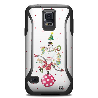 Otterbox Commuter Galaxy S5 Case Skin - Christmas Circus