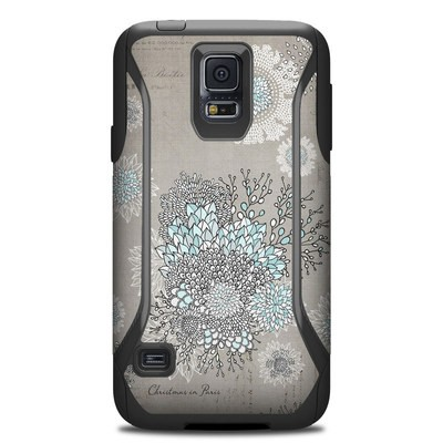 Otterbox Commuter Galaxy S5 Case Skin - Christmas In Paris