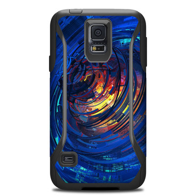 Otterbox Commuter Galaxy S5 Case Skin - Clockwork