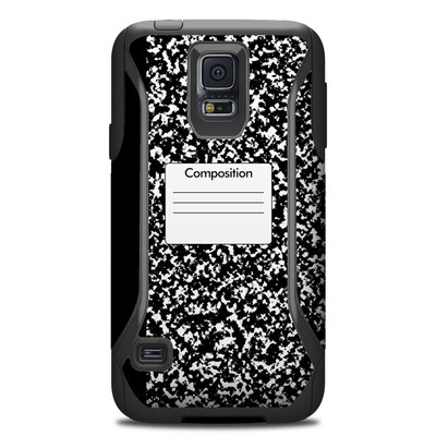 OtterBox Commuter Galaxy S5 Case Skin - Composition Notebook