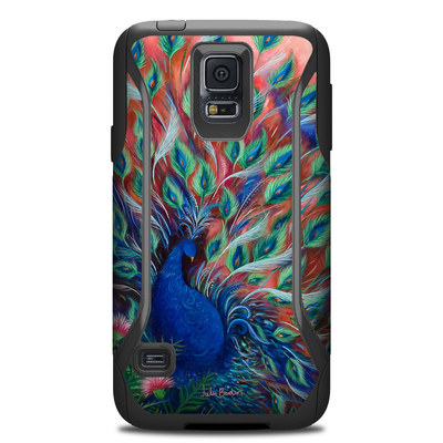 Otterbox Commuter Galaxy S5 Case Skin - Coral Peacock