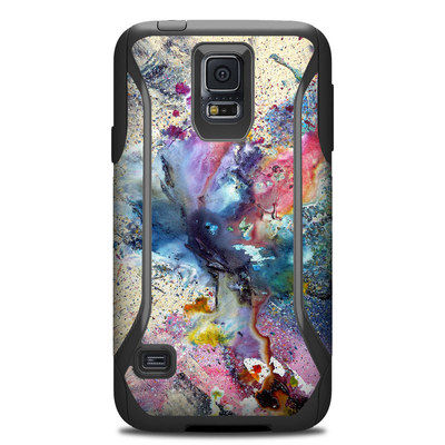 Otterbox Commuter Galaxy S5 Case Skin - Cosmic Flower