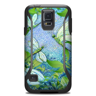 Otterbox Commuter Galaxy S5 Case Skin - Dragonfly Fantasy