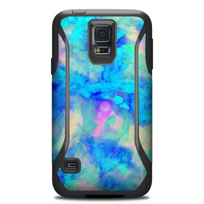Otterbox Commuter Galaxy S5 Case Skin - Electrify Ice Blue
