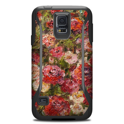 Otterbox Commuter Galaxy S5 Case Skin - Fleurs Sauvages