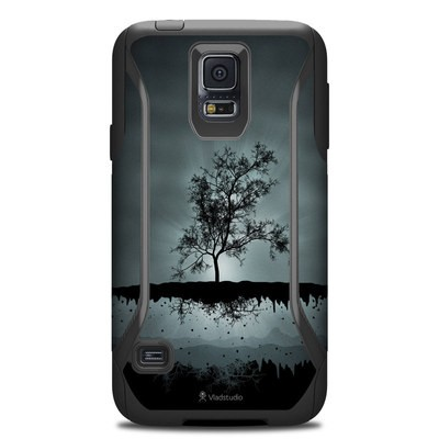 OtterBox Commuter Galaxy S5 Case Skin - Flying Tree Black