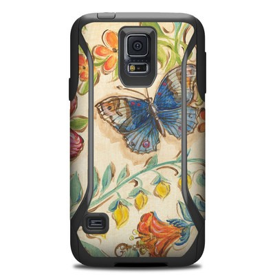 OtterBox Commuter Galaxy S5 Case Skin - Garden Scroll