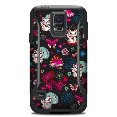 Otterbox Commuter Galaxy S5 Case Skin - Geisha Kitty