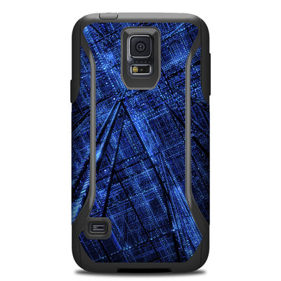 Otterbox Commuter Galaxy S5 Case Skin - Grid