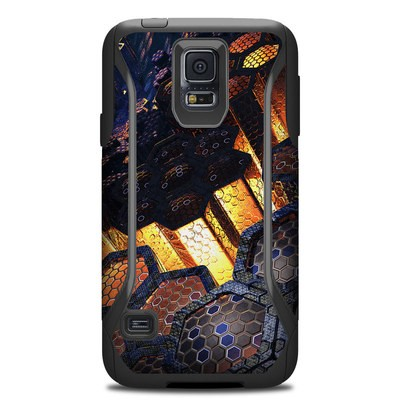 OtterBox Commuter Galaxy S5 Case Skin - Hivemind