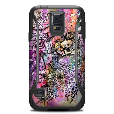 Otterbox Commuter Galaxy S5 Case Skin - Hot House Flowers
