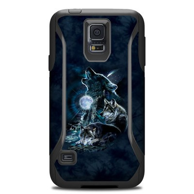 Otterbox Commuter Galaxy S5 Case Skin - Howling