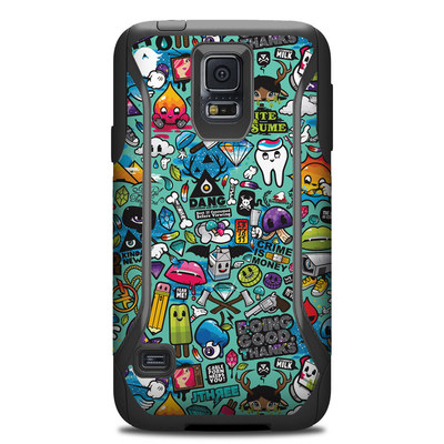 Otterbox Commuter Galaxy S5 Case Skin - Jewel Thief
