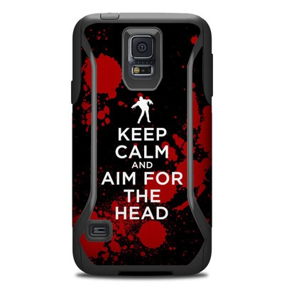 OtterBox Commuter Galaxy S5 Case Skin - Keep Calm - Zombie