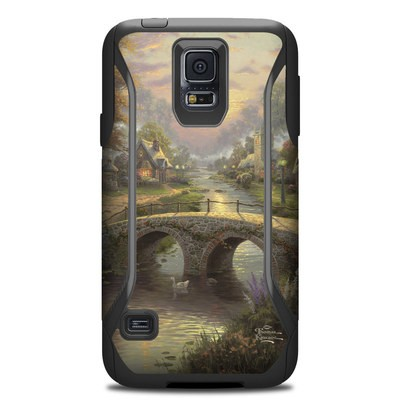Otterbox Commuter Galaxy S5 Case Skin - Sunset On Lamplight Lane