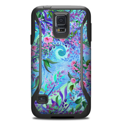 Otterbox Commuter Galaxy S5 Case Skin - Lavender Flowers