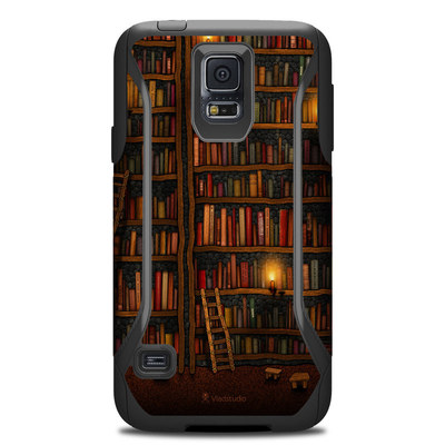 Otterbox Commuter Galaxy S5 Case Skin - Library