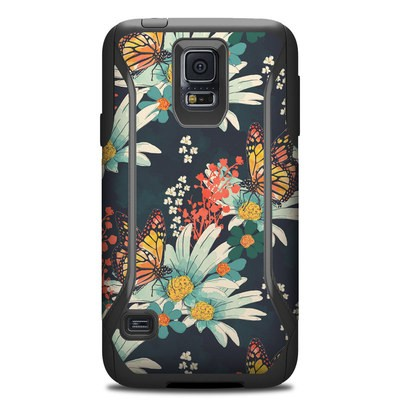 Otterbox Commuter Galaxy S5 Case Skin - Monarch Grove