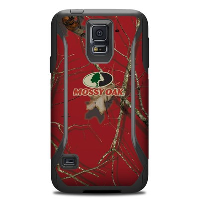 Otterbox Commuter Galaxy S5 Case Skin - Break-Up Lifestyles Red Oak
