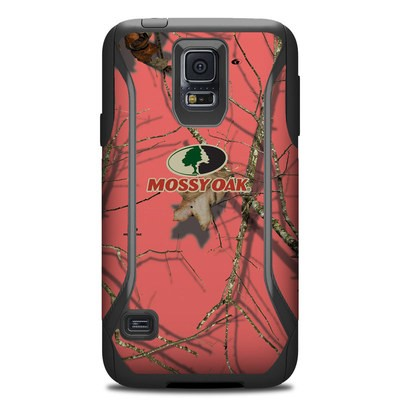 OtterBox Commuter Galaxy S5 Case Skin - Break-Up Lifestyles Salmon