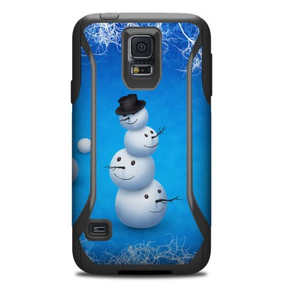 Otterbox Commuter Galaxy S5 Case Skin - Merry Snowman