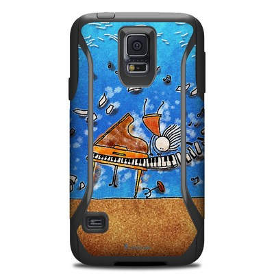 OtterBox Commuter Galaxy S5 Case Skin - Music is Power