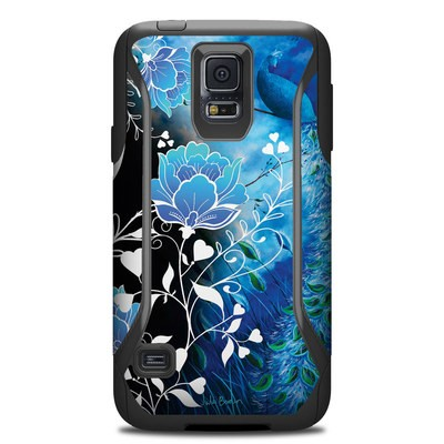 OtterBox Commuter Galaxy S5 Case Skin - Peacock Sky
