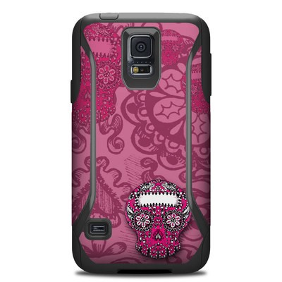 OtterBox Commuter Galaxy S5 Case Skin - Pink Lace