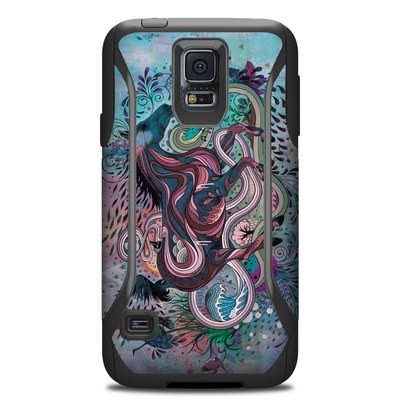 Otterbox Commuter Galaxy S5 Case Skin - Poetry in Motion