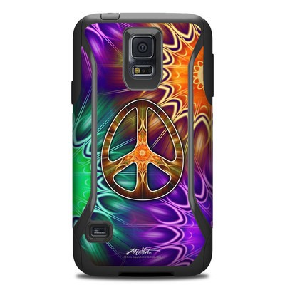 Otterbox Commuter Galaxy S5 Case Skin - Peace Triptik