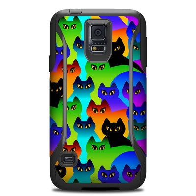 Otterbox Commuter Galaxy S5 Case Skin - Rainbow Cats