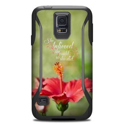 Otterbox Commuter Galaxy S5 Case Skin - She Believed