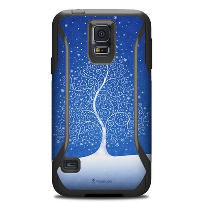 OtterBox Commuter Galaxy S5 Case Skin - Snowflakes Are Born